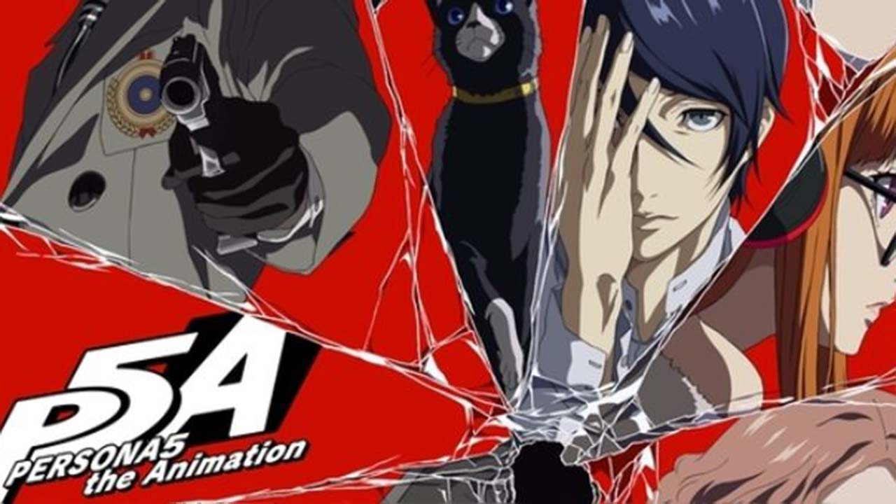 Persona 5 The Animation Dark Sun Subtitle Indonesia