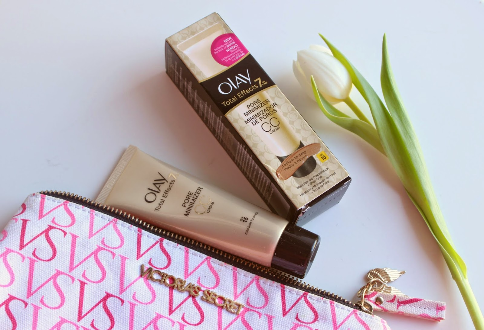 6ceafedb19f Olay Total Effects Pore Minimizer CC Cream Review | The Sunday Girl |  Bloglovin'