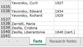 here's how you can get more value out of a genealogy spreadsheet