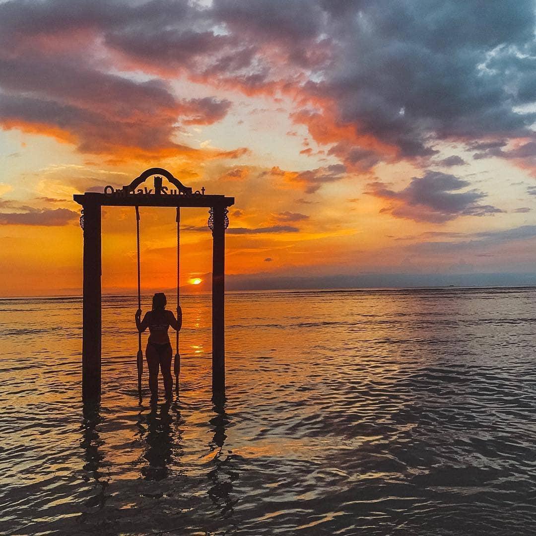 Wisata Sunset di Gili Trawangan