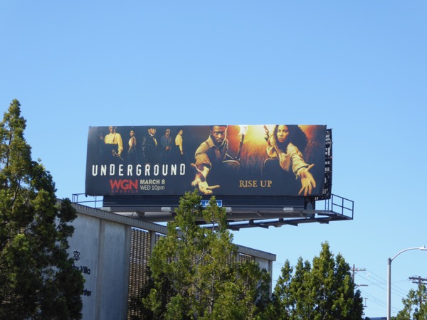 Underground season 2 billboard
