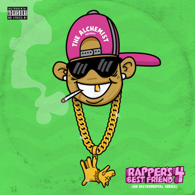 The Alchemist - Rapper's Best Friend 4: An Instrumental Series - Album Download, Itunes Cover, Official Cover, Album CD Cover Art, Tracklist