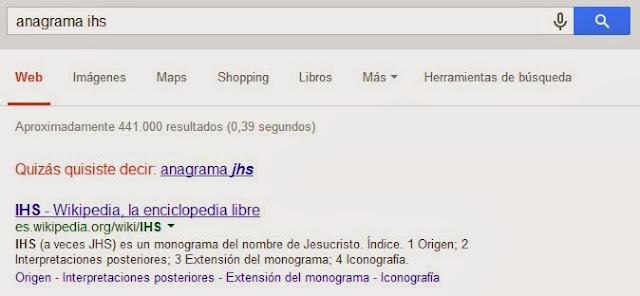 busqueda google IHS