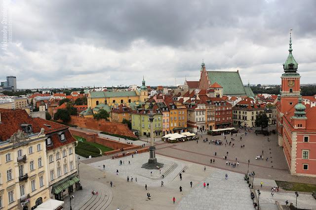 Warszawa - Plac Zamkowy w Warszawie