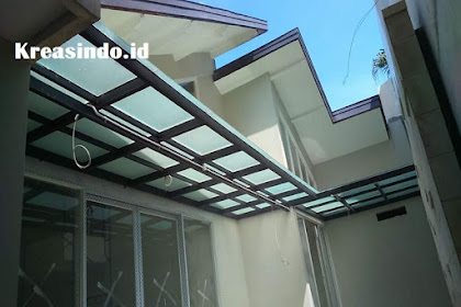 Harga Macam-Macam Canopy Besi Minimalis, Baja Ringan, Canopy Tempa, dan Atap Kaca atau Akrilik Terbaru