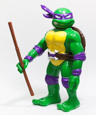 RealxHead Teenage Mutant Ninja Turtles Vinyl Figure Collection by Unbox Industries - Donatello