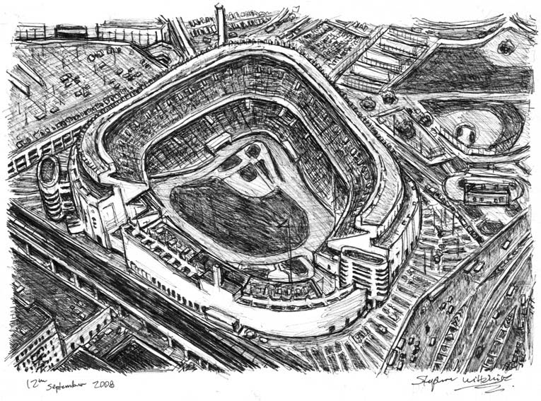 15-Yankee-Stadium-in-New-York-City-Stephen-Wiltshire-Urban-Drawings-from-Memory-with-Detailed-Cityscapes-www-designstack-co