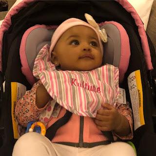 Photos of CardiB's daughter Kulture
