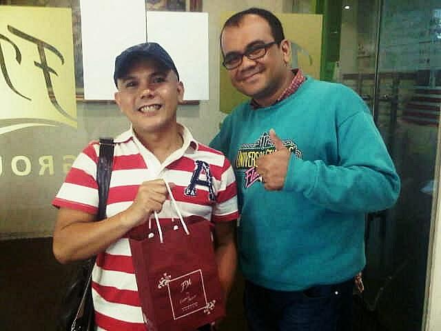 Artis Ozy Syahputra Memakai Parfum Original FM