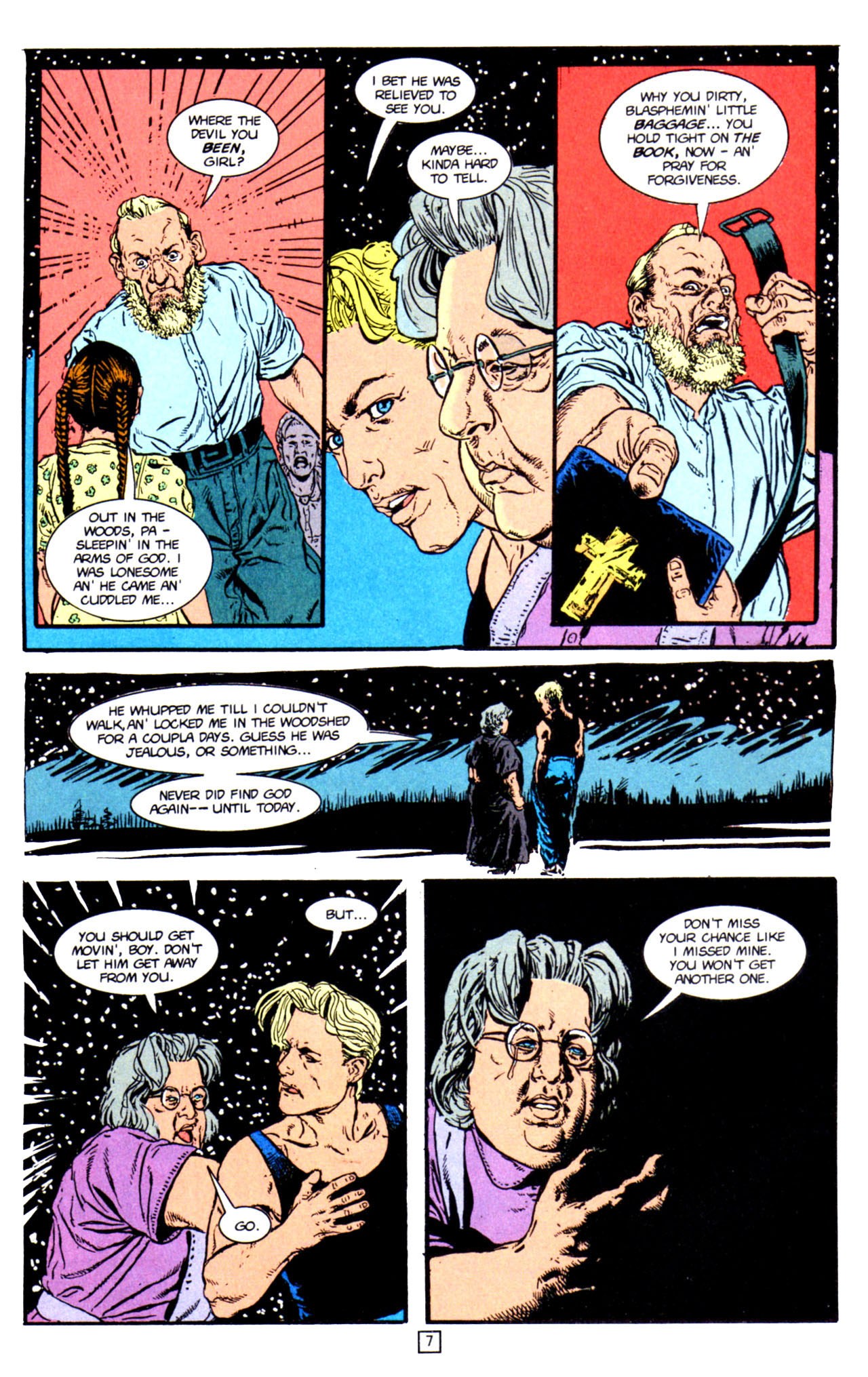 Read online Animal Man (1988) comic -  Issue #66 - 9