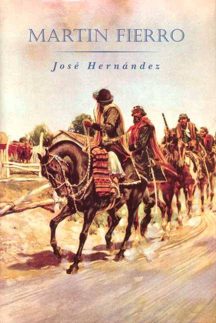 Portada del libro Martín Fierro de José Hernández pdf epub gratis