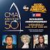 Los nominados a los 50th CMA Awards 2016.