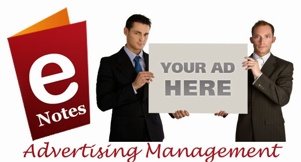 Free Notes of Advertising Management Subject