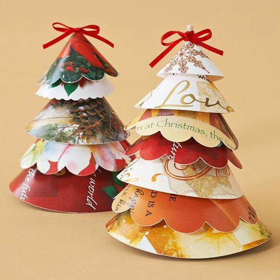 Recycled Plastic Christmas Tree: How To Recycle: Recycled Christmas Decorating Ideas