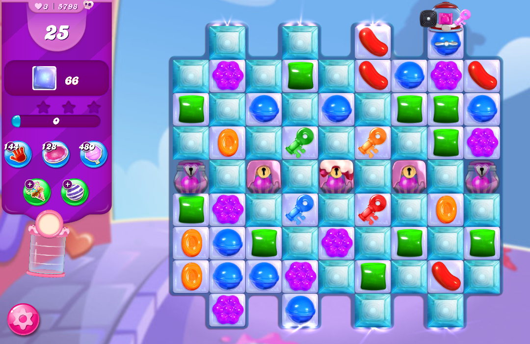 Candy Crush Saga level 5798