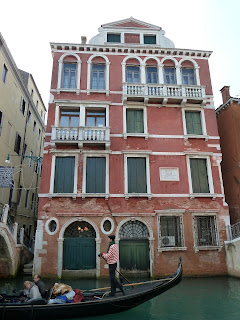 The house opposite Campo Manin in Venice's San Marco sestiere, where Manin lived