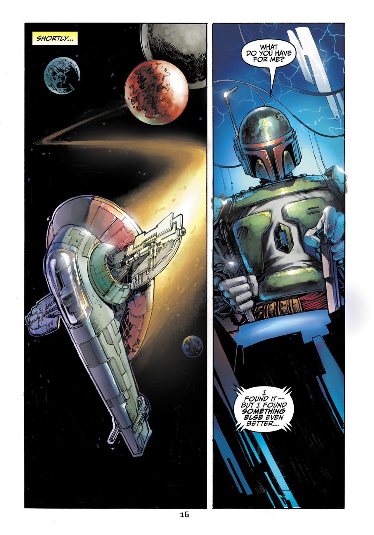 Read online Star Wars Adventures comic -  Issue # Issue Boba Fett and the Ship of Fear - 17