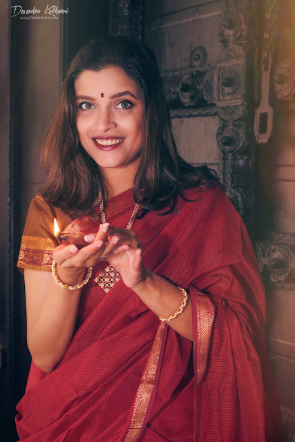 Feat Rewati Limaye - Diwali Theme Shoot