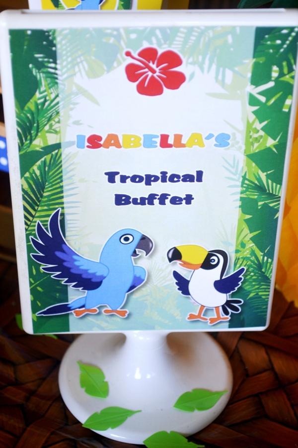 Anniversaire Enfant | Thème Tropical Rio | BirdsParty.fr