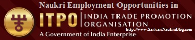 Naukri vacancy recruitment in ITPO