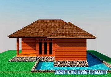 Contoh Desain Rumah Kayu Diatas Kolam Ikan Terbaru Desain Interior Exterior