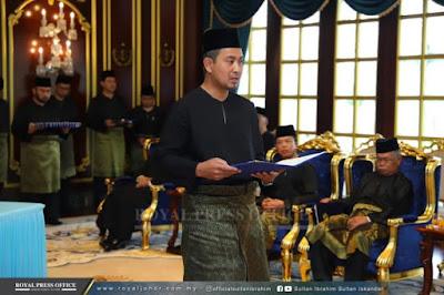 Kenali MB Johor Ke 17 Yang Baru Iaitu Dr Sahruddin
