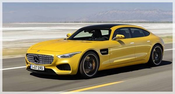 2018 Mercedes-AMG GT4 Review and Release Date 2019
