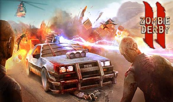 Download Zombie Derby 2 Mod Apk Unlimited Money for Android