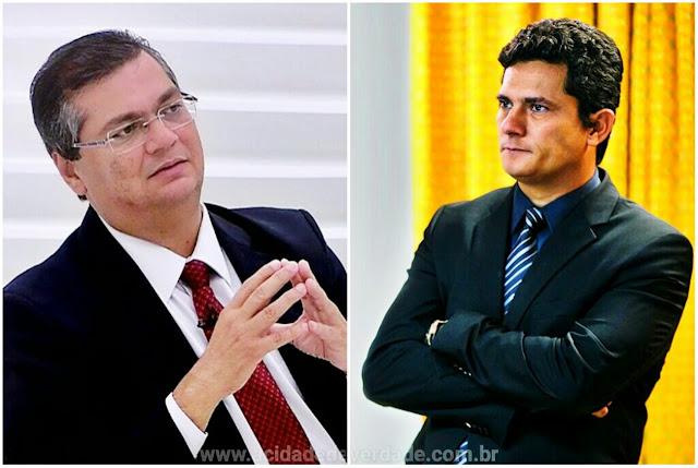 Resultado de imagem para Flávio Dino critica Moro
