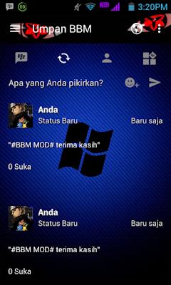 bbm mod windows pain apk black terbaru