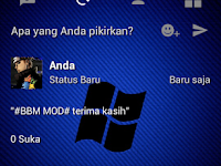 BBM Mod v3.0,1,25 Unlocked  Android Windows Pain APK Update 2016