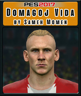 PES 2017 Faces Domagoj Vida by Sameh Momen