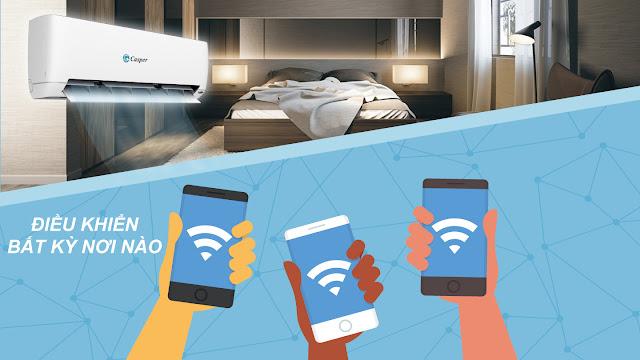 Điều hòa casper inverter smart wifi