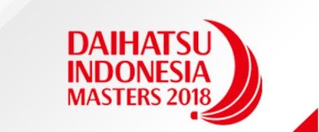 Jadwal Lengkap Daihatsu Indonesia Master 2018