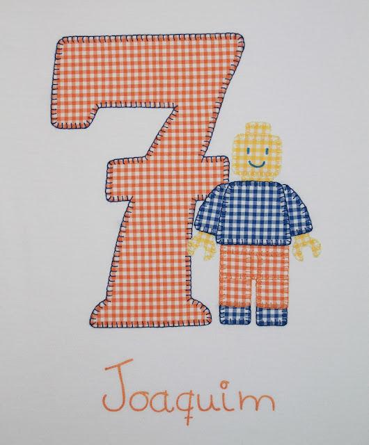 camiseta cumpleaños lego 7 años