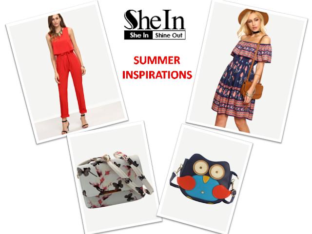 Letnie propozycje ze sklepu Shein