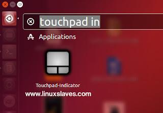 Touchpad Indicator Ubuntu Linux