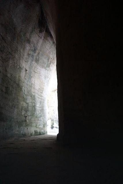 ネアポリ考古学公園のディオニュソスの耳