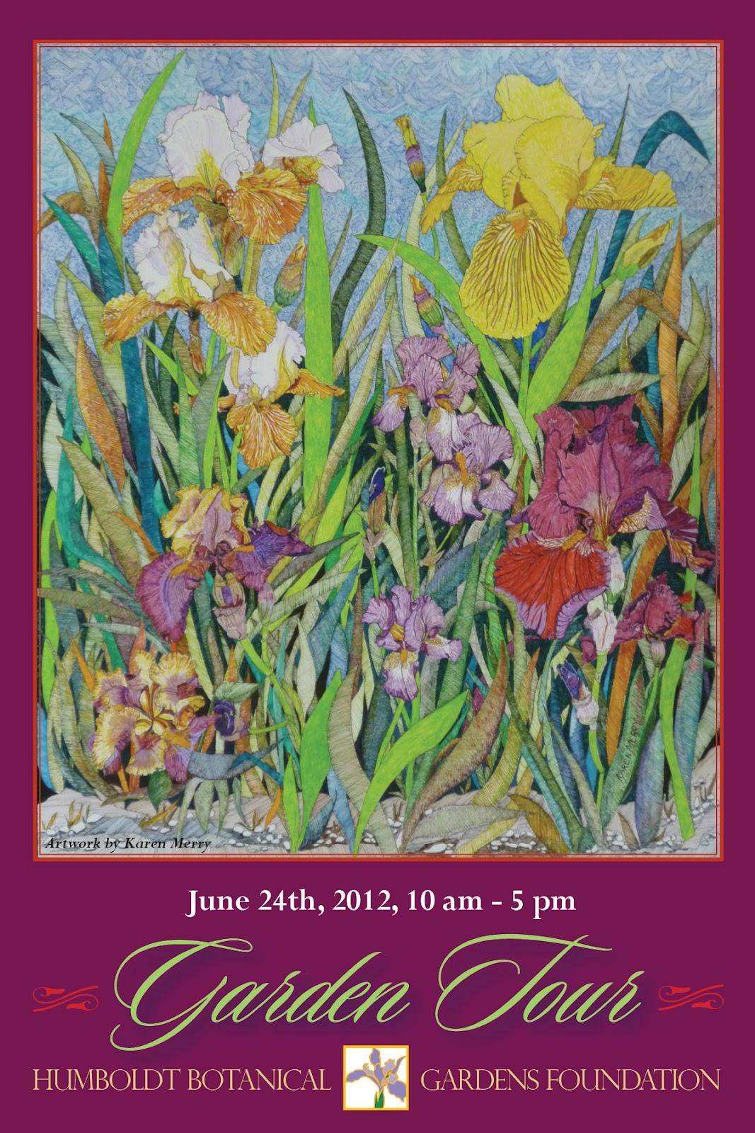 Humbot Garden Tour This Sunday June 24th