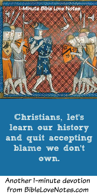 Crusades were a response to Muslim Violence