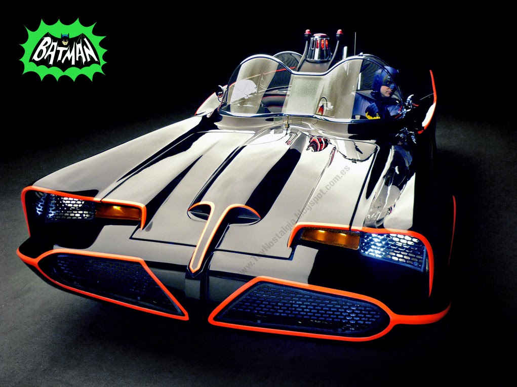 Batman Batmobile 1966 TV Show Batmovil  Batimóvil