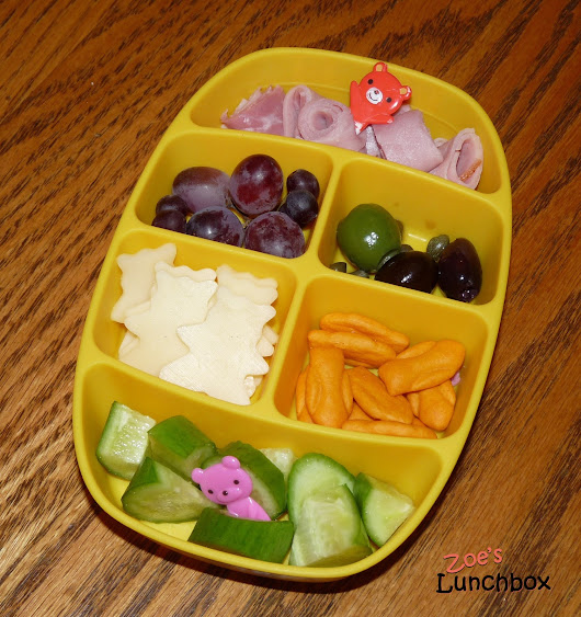 Zoe's Lunchbox: A Beary Special Nibbler Lunch