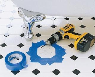 Chỉ dẫn tự sửa gạch lát nền