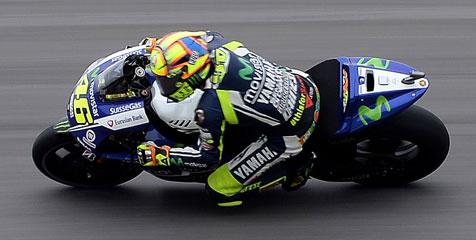 Rossi Puas Raih Podium Perdana Di Silverstone