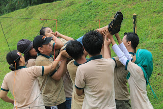 OUTBOUND PUNCAK TEAM BUILDING