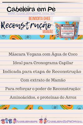 Bemdita Ghee - Manteiga Vegana Reconstrutora de Mamão - Lola