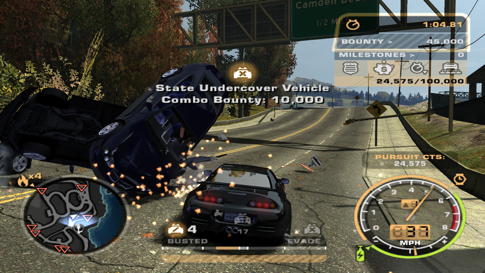 Need For Speed Most Wanted Black Edition Cars Mods