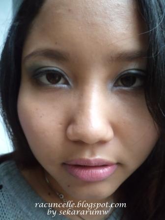 Penampakan Ketika Dipakai Di Bibir