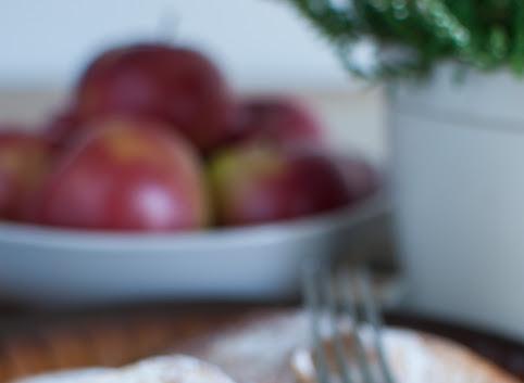 Jabłka w cieście (kokosowym)