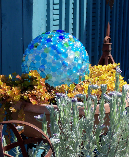 garden ball diy